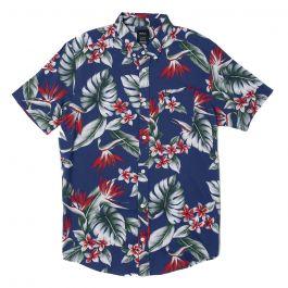 RVCA Ανδρικό κοντομάνικο πουκάμισο